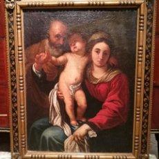 Arte: SAGRADA FAMILIA. ESCUELA ITALIANA CIRCA 1600.. Lote 254967505