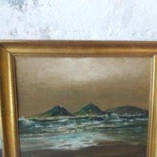 Arte: PINTURA AL OLEO DE JAMES WELLMAN,(ENGLAND),AFINCADO EN SAN SEBASTIAN. Lote 254978625