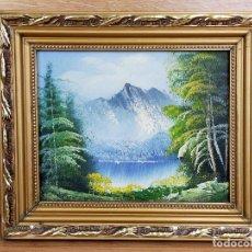 Arte: CUADRO 32 X 26 CM. Lote 255348325