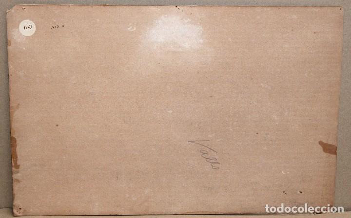 Arte: ENRIC GALWEY GARCÍA (1861-1931) OLEO SOBRE CARTON. PAISAJE TITULADO VALLS - Foto 10 - 255919685