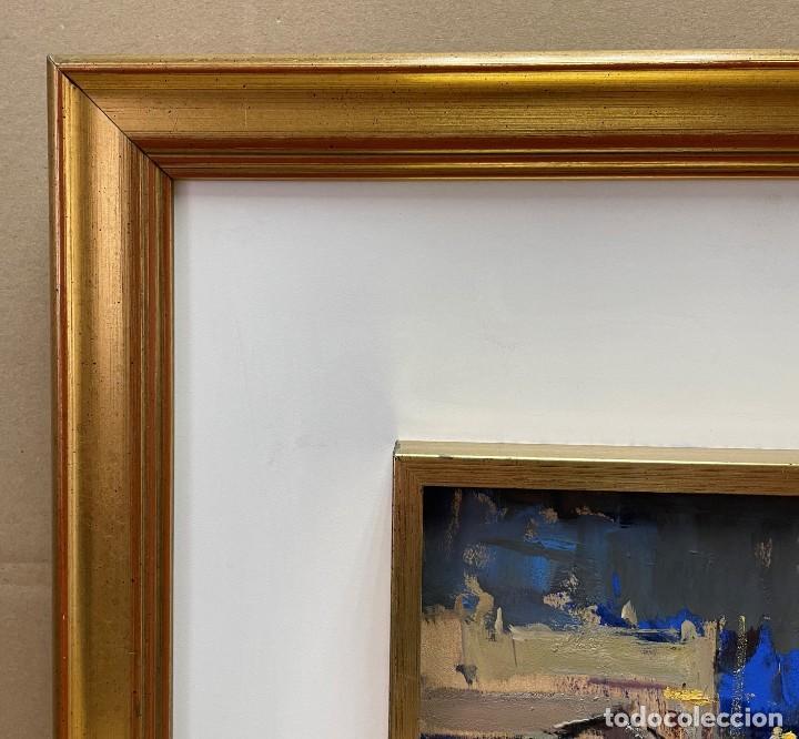 Arte: JOSEP MARIA MARTINEZ LOZANO - OLEO - VISTA DE PUEBLO - 20 X 26 cm. - Foto 6 - 255941305