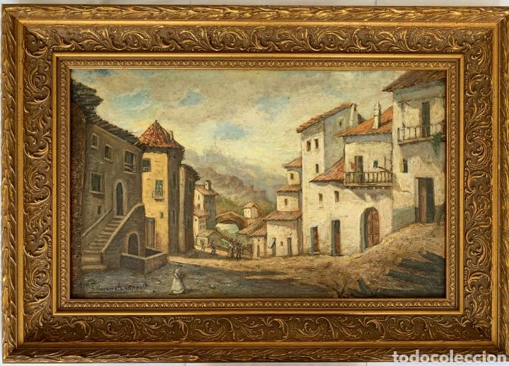 JOSÉ NAVARRETE OPPELT) MÁLAGA 1871 (Arte - Pintura - Pintura al Óleo Moderna siglo XIX)