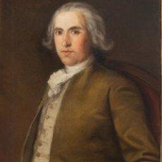 Arte: RETRATO DE CABALLERO. FECHADO 1769. CÍRCULO O SEGUIDOR DE FRANCISCO DE GOYA. Lote 256038700
