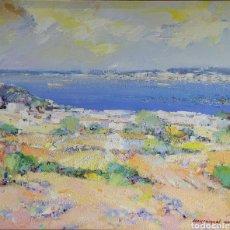 Arte: PAISAJE DE ROSES POR JOAN MIQUEL CODINA (1929-1998). Lote 256164135
