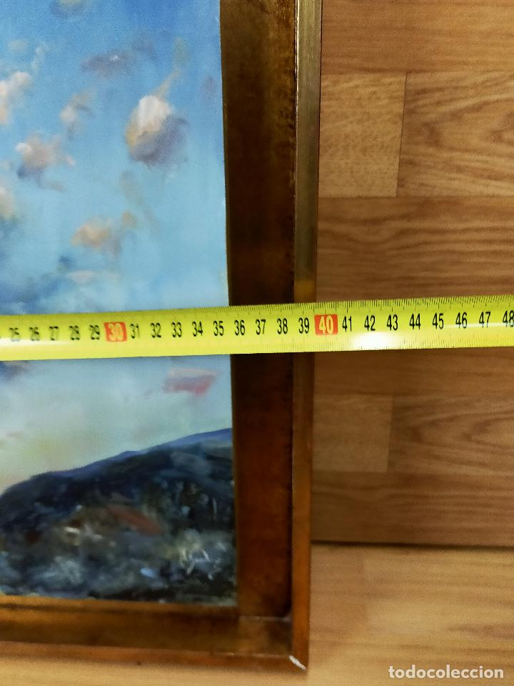 Arte: CUADRO oleo pintor desconocido 40 X 57 - Foto 2 - 256169995