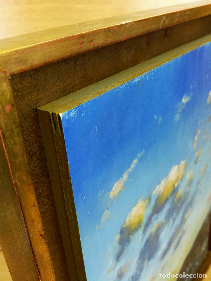 Arte: CUADRO oleo pintor desconocido 40 X 57 - Foto 4 - 256169995
