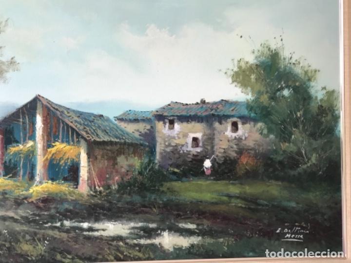 Arte: OLEO SOBRE LIENZO DE ENRIC BELTRÁN MESSA. BONITO PAISAJE. - Foto 4 - 256713420