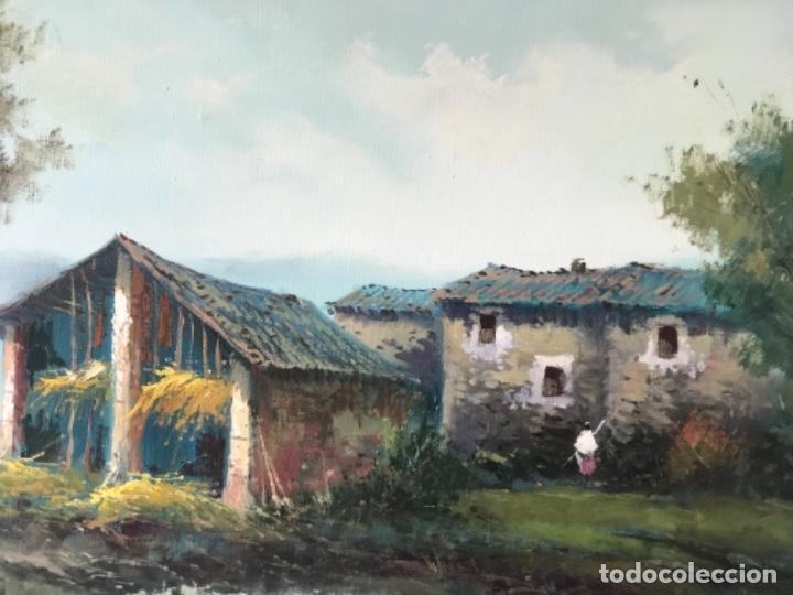 Arte: OLEO SOBRE LIENZO DE ENRIC BELTRÁN MESSA. BONITO PAISAJE. - Foto 5 - 256713420