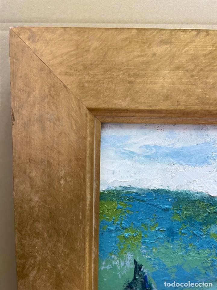 Arte: RAMON AGUILAR MORÉ - ÓLEO - HOSTALETS DEN BAS - 53 x 66,5 cm. - Foto 11 - 256146690