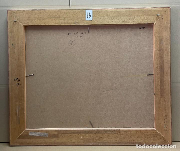Arte: RAMON AGUILAR MORÉ - ÓLEO - HOSTALETS DEN BAS - 53 x 66,5 cm. - Foto 12 - 256146690