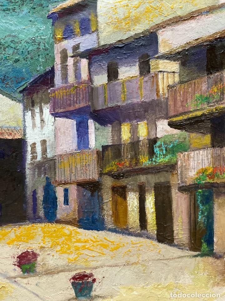 Arte: RAMON AGUILAR MORÉ - ÓLEO - HOSTALETS DEN BAS - 53 x 66,5 cm. - Foto 5 - 256146690