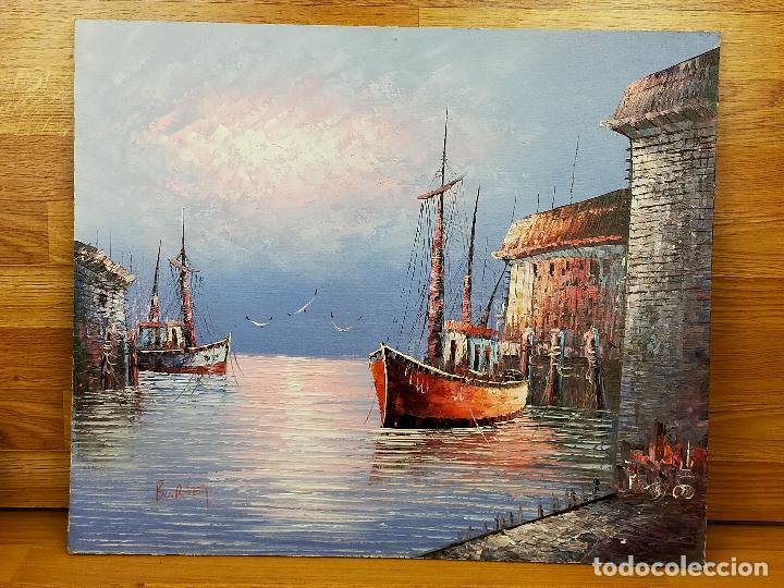 PINTURA CUADRO FIRMADA CAROLINE BURNETT (Arte - Pintura - Pintura al Óleo Moderna sin fecha definida)