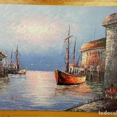 Arte: PINTURA CUADRO FIRMADA CAROLINE BURNETT. Lote 257431455