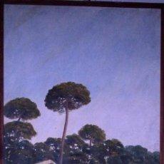 Arte: FELIPE AGRAMUNT. OLEO SOBRE LIENZO GRANDES DIMENSIONES. 183X79CM. ALBUFERA VALENCIA 1927. Lote 257523135