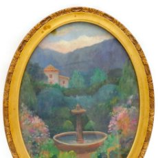 Arte: JOAN FUSTER BONNÍN (PALMA DE MALLORCA 1870 - 1943). ÓLEO/CARTÓN 40 X 28 CM. FIRMADO. MARCO.. Lote 257569560
