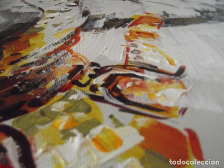 Arte: Magnifico óleo jinete Picador de toros , 61 x 50 cm - Foto 6 - 257603890
