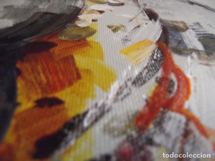 Arte: Magnifico óleo jinete Picador de toros , 61 x 50 cm - Foto 7 - 257603890