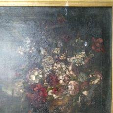 Arte: BODEGON FLORES. SIGLO XIII.. Lote 257652800