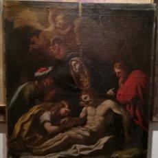 Arte: LA LAMENTACIÓN. ESCUELA ITALIANA CIRCA 1700.. Lote 257708230