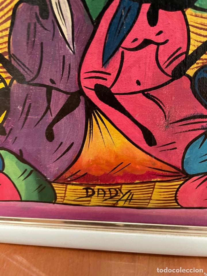Arte: CUADRO ÓLEO SOBRE TABLA - Foto 2 - 257715860