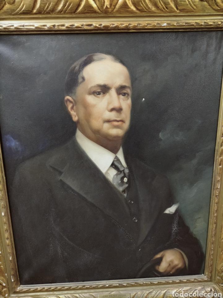 RETRATO ORIGINAL DE FRANCISCO RIBERA GOMEZ (Arte - Pintura - Pintura al Óleo Moderna sin fecha definida)
