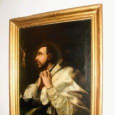 Arte: ESCUELA ESPAÑOLA S. XVII-XVIII. ÓLEO/LIENZO 83 X 62 CM. SANTO. CON MARCO.. Lote 258005065