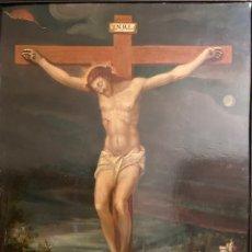 """Arte: OLEO SOBRE COBRE """"CRISTO"""" SIGLO XVII. CÍRCULO GRECO.. Lote 258214775"""