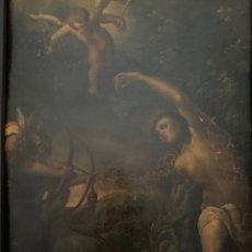"""Arte: OLEO SOBRE COBRE """"SAN SEBASTIÁN"""". SIGLO XVII. CÍRCULO EL GRECO.. Lote 258749660"""