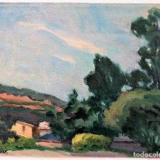 Arte: FREDERIC VIÑALS I YSCLA (1913-2012) PINTURA AL ÓLEO SOBRE LIENZO. Lote 259718560