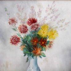 Arte: ARTUR CARBONELL I CARBONELL (SITGES, 1906 - 1973) OLEO SOBRE LIENZO DEL AÑO 1960. BODEGON. Lote 259749360