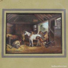 Arte: PINTURA AL ÓLEO DE F. RUIZ FERRANDIS. Lote 260445540
