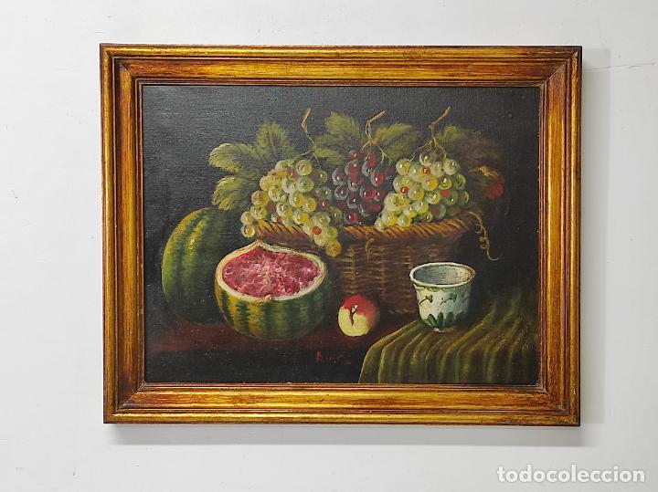 DECORATIVO BODEGÓN - ÓLEO SOBRE TELA - CON FIRMA (Arte - Pintura - Pintura al Óleo Moderna sin fecha definida)