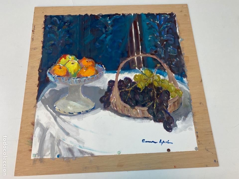 PINTURA AL ÓLEO SOBRE LIENZO FIRMADO POR CARME ESPEL (Arte - Pintura - Pintura al Óleo Contemporánea )