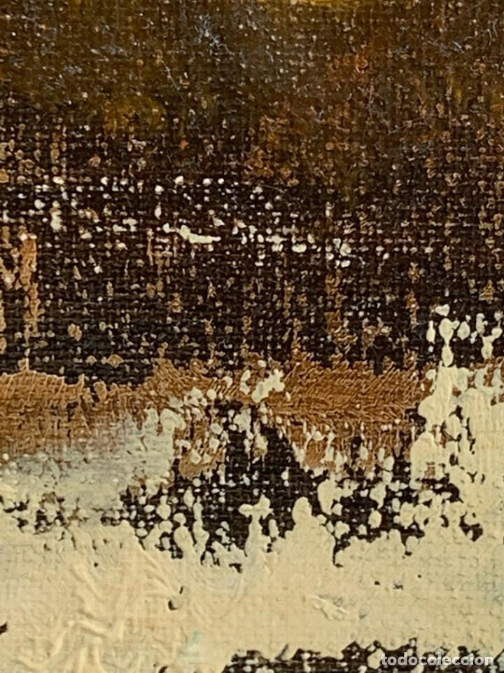 Arte: OLEO LIENZO BODEGON UVAS FRUTAS CERAMICA AÑOS 50 60 FIRMA MARCEL DUVAL ESCUELA FRANCESA 80X97CMS - Foto 10 - 260758000