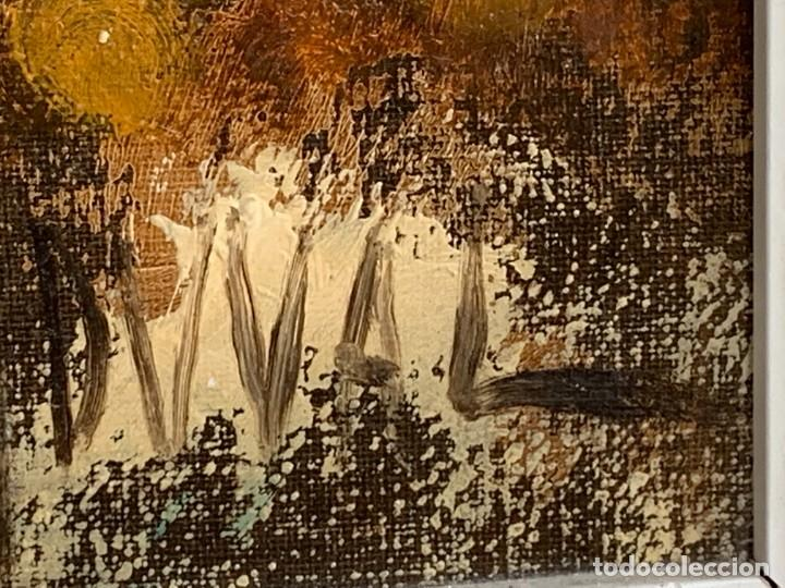 Arte: OLEO LIENZO BODEGON UVAS FRUTAS CERAMICA AÑOS 50 60 FIRMA MARCEL DUVAL ESCUELA FRANCESA 80X97CMS - Foto 2 - 260758000