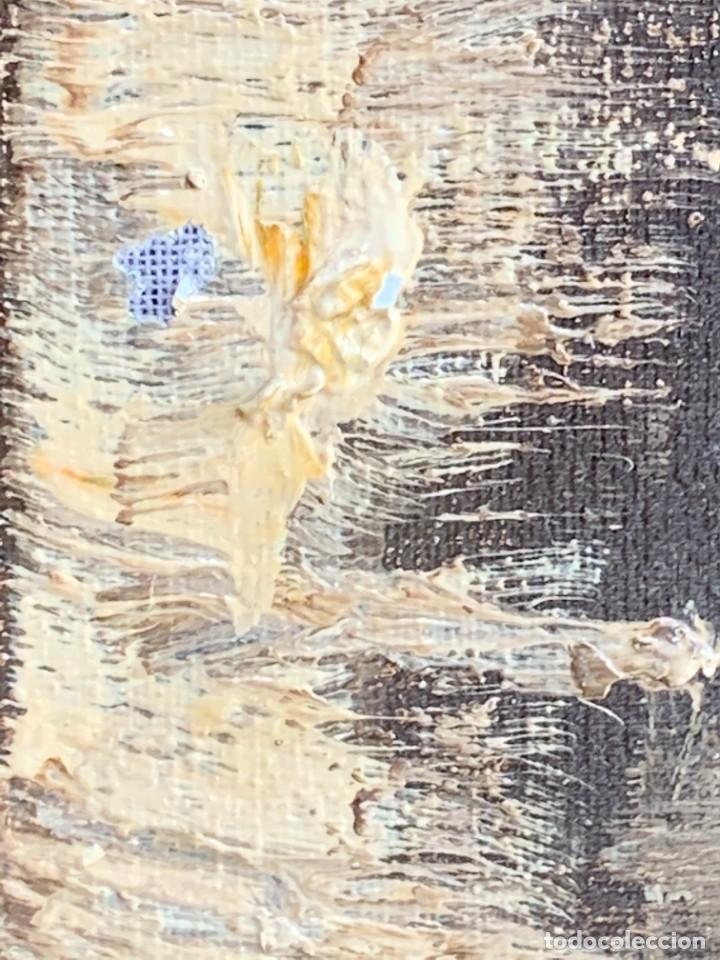 Arte: OLEO LIENZO BODEGON UVAS FRUTAS CERAMICA AÑOS 50 60 FIRMA MARCEL DUVAL ESCUELA FRANCESA 80X97CMS - Foto 11 - 260758000
