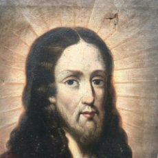 Arte: ESCUELA ANDALUZA SIGLO XVII: CRISTO REDENTOR. Lote 260760385