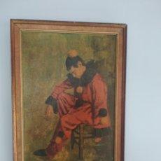 Arte: ANTIGUA PINTURA SOBRE TABLET J.PIFARRE. Lote 260815285