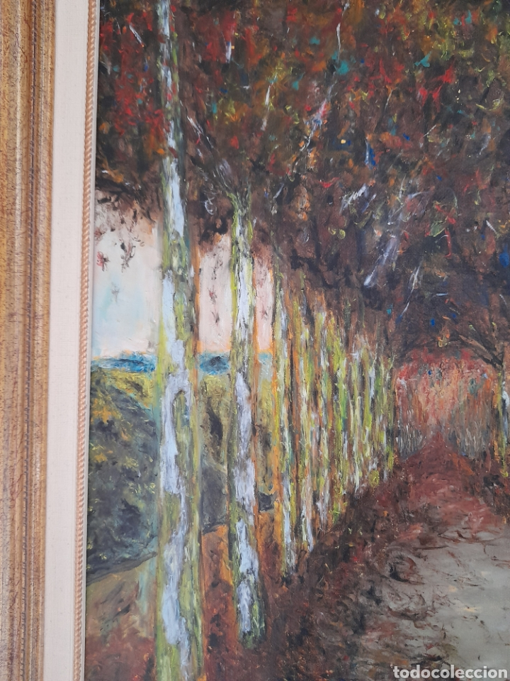 Arte: Oleo sobre lienzo firmado J.Aroca ,1998 - Foto 5 - 260829610