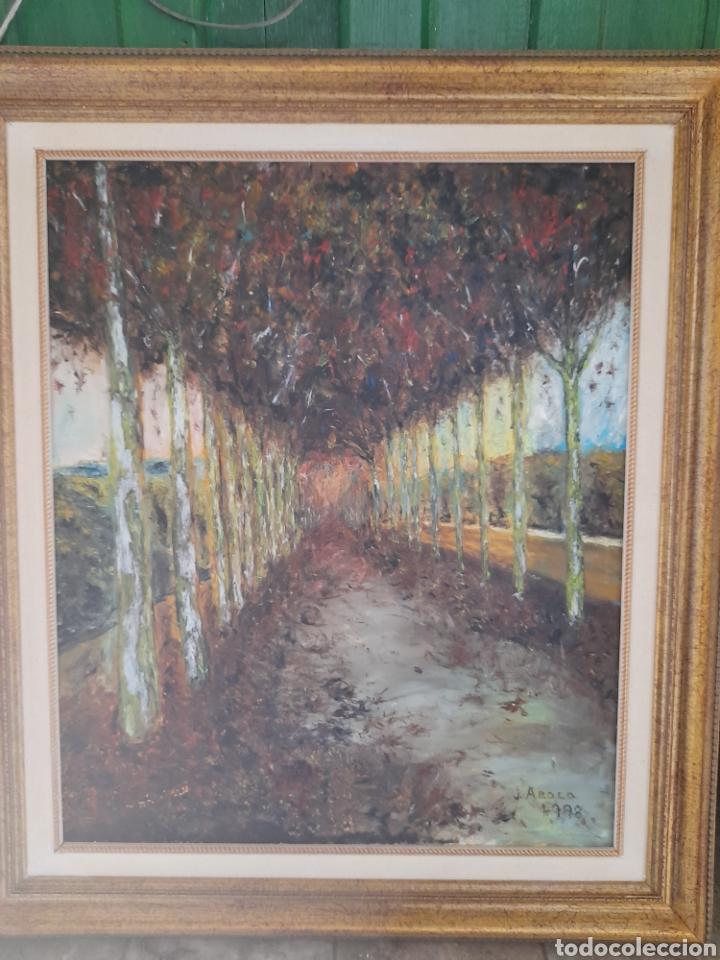 OLEO SOBRE LIENZO FIRMADO J.AROCA ,1998 (Arte - Pintura - Pintura al Óleo Contemporánea )