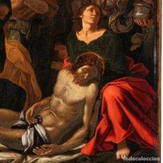 Arte: ESCUELA ITALIANA DEL SIGLO XVI / XVII. LA LAMENTACIÓN POR EL CRISTO MUERTO. Lote 260854050
