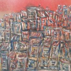 Arte: OLEO SOBRE TABLA ENRIQUE V (FABELAS) 50X40. Lote 260870315