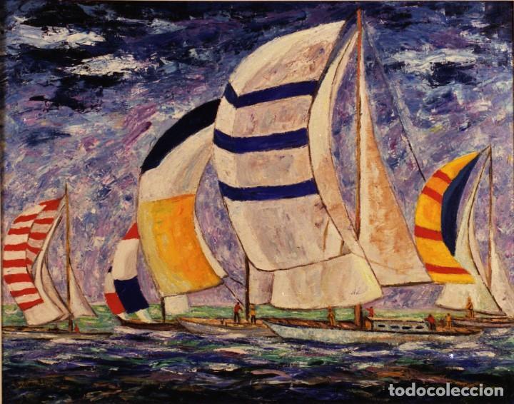 JULIÁN QUIRANTE - MARINA (Arte - Pintura - Pintura al Óleo Contemporánea )