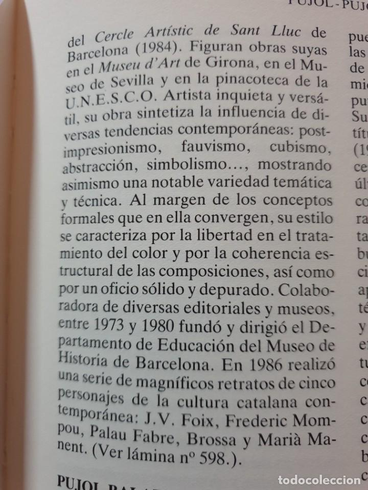 Arte: EXCELENTE ÓLEO EN TELA DE ROSA MARIA PUJOL AVELLANA (BCN 1945). MATERNIDAD 1986. - Foto 20 - 261139810