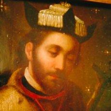 Arte: ÓLEO SOBRE COBRE SIGLO XVIII MÉXICO PINTURA COLONIAL. Lote 261145380