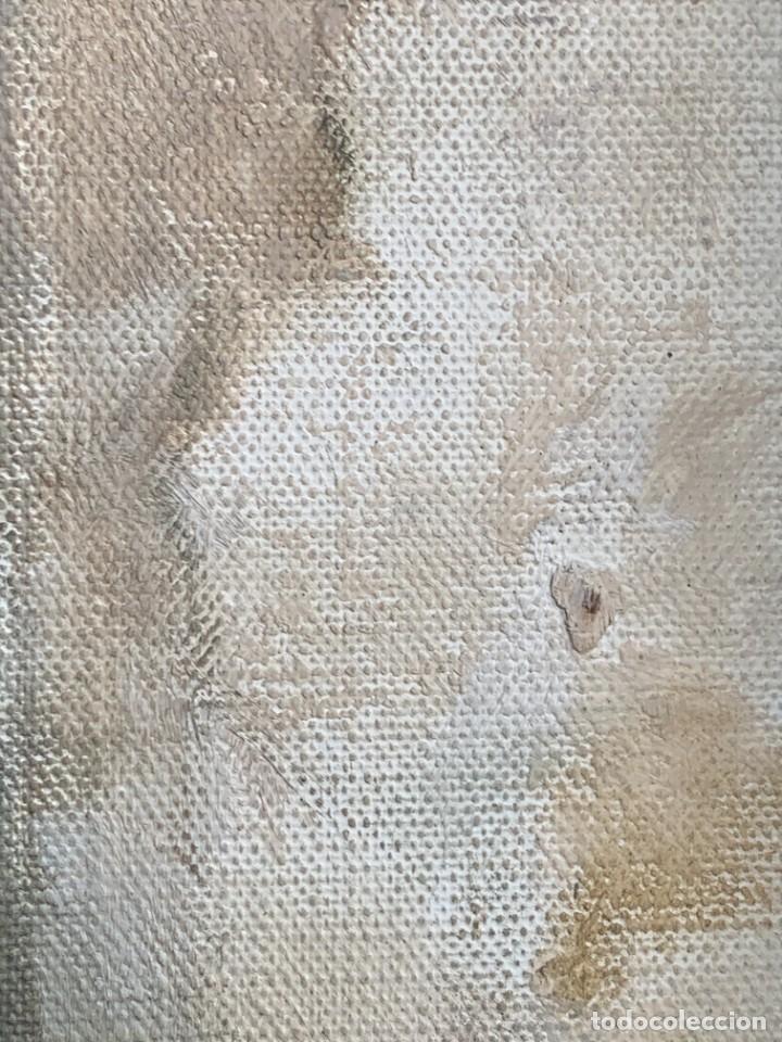 Arte: OLEO LIENZO FIRMA DOMINGO VILADOMAT BODEGON PANES PAPEL ARRUGADO CANTARO AÑOS 70 80 91X77CMS - Foto 14 - 261155500