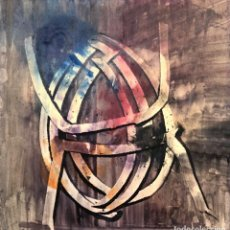 Arte: LLUÍS BOSCH CRUAÑAS - TÉCNICA MIXTA SOBRE PAPEL - 1960. Lote 261211645