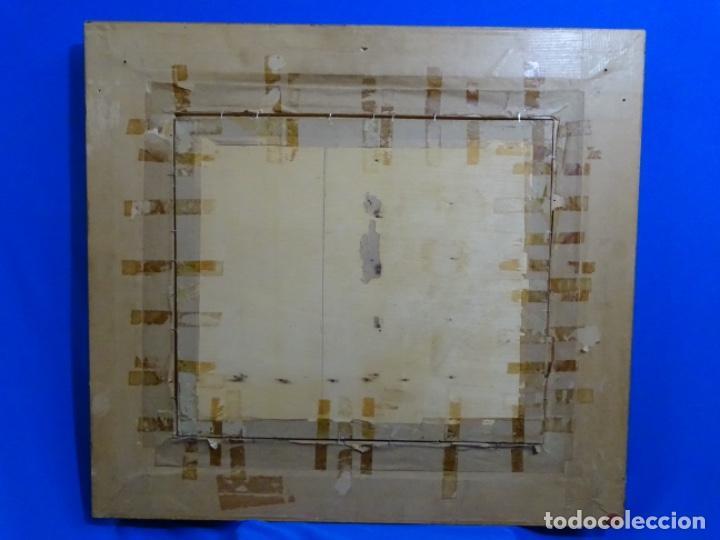 Arte: ÓLEO EN TABLEX DE JOAQUIM TERRUELLA MATILLA 1921. INFLUENCIA DE SU MAESTRO SANTIAGO RUSIÑOL. - Foto 22 - 261289530