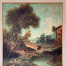 Arte: PAISAJE ESCUELA ITALIANA. Lote 261349855