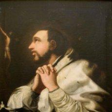 Arte: ESCUELA ESPAÑOLA S. XVII-XVIII. ÓLEO/LIENZO 83 X 62 CM. SANTO. CON MARCO.. Lote 261629780